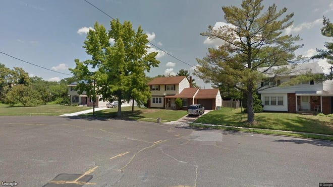 This Google Street View image shows the approximate location of 518 Oak Drive in Somerdale. The property at this address changed hands in July 2019, when new owners bought the property for $157,000.