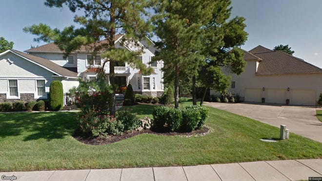 This Google Street View image shows the approximate location of 20 Simsbury Drive in Voorhees. The property at this address changed hands in September 2019, when new owner bought the property for $790,000.