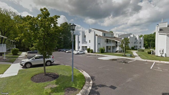 This Google Street View image shows the approximate location of 4103 Tracy Court in Voorhees. The property at this address changed hands in October 2019, when new owner bought the property for $79,500.
