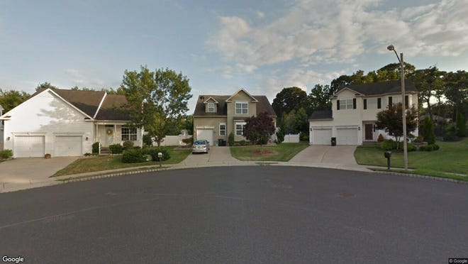 This Google Street View image shows the approximate location of 158 Nathan Hale Drive in Deptford. The property at this address changed hands in August 2019, when new owners bought the property for $305,000.