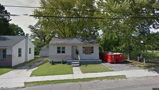 This Google Street View image shows the approximate location of 57 Pamphylia Ave. in Bridgeton. The property at this address changed hands in October 2019, when new owner bought the property for $33,000.