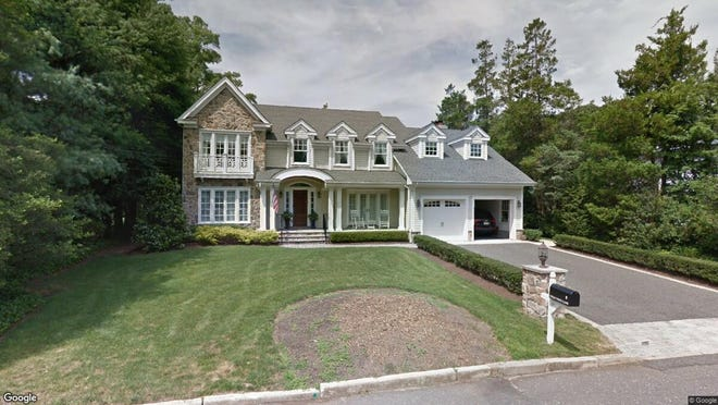 This Google Street View image shows the approximate location of 8 Holly Tree Lane in Rumson. The property at this address changed hands in September 2019, when new owners bought the property for $1,725,000.
