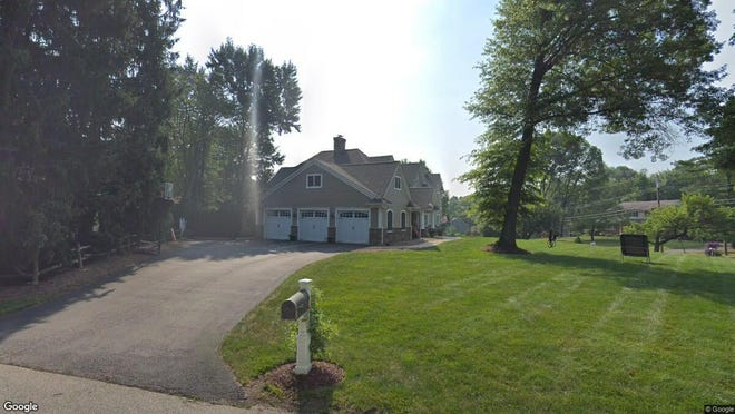 This Google Street View image shows the approximate location of 42 Heather Lane in Mahwah. The property at this address changed hands in August 2019, when new owners bought the property for $1,337,500.