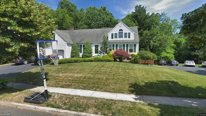 This Google Street View image shows the approximate location of 805 Demarrais Place in Oradell. The property at this address changed hands in August 2019, when new owners bought the property for $850,000.