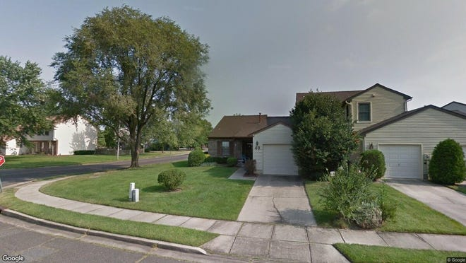 This Google Street View image shows the approximate location of 40 E. Oleander Drive in Mount Laurel. The property at this address changed hands in October 2019, when new owner bought the property for $174,900.