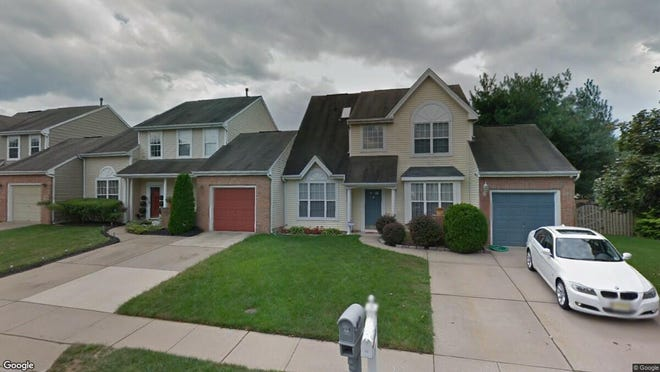 This Google Street View image shows the approximate location of 12 Wildberry Drive in Westampton. The property at this address changed hands in October 2019, when new owners bought the property for $258,000.