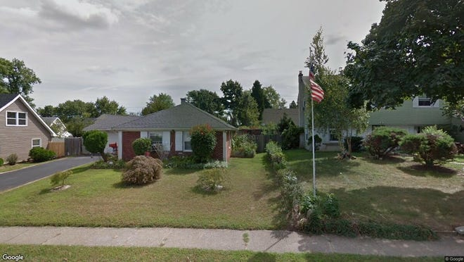 This Google Street View image shows the approximate location of 20 Pennant Lane in Willingboro. The property at this address changed hands in October 2019, when new owner bought the property for $180,000.