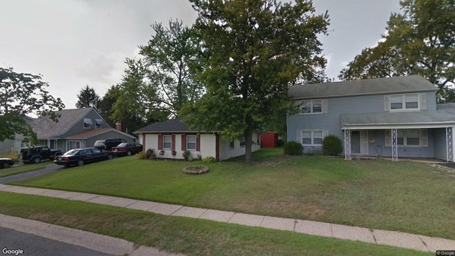 This Google Street View image shows the approximate location of 111 Middlebury Lane in Willingboro. The property at this address changed hands in July 2019, when new owners bought the property for $168,000.