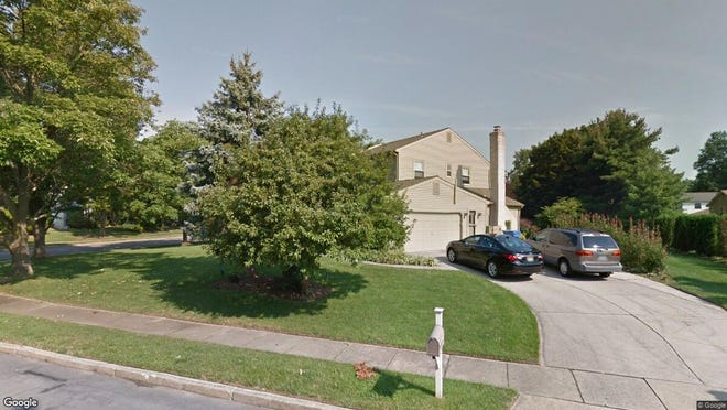 This Google Street View image shows the approximate location of 1621 Crown Point Lane in Cherry Hill. The property at this address changed hands in August 2019, when new owners bought the property for $403,000.