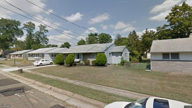 This Google Street View image shows the approximate location of 5037 Golfview Drive in Pennsauken. The property at this address changed hands in September 2019, when new owners bought the property for $155,000.