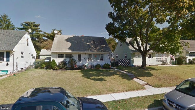 This Google Street View image shows the approximate location of 518 Hemlock Terrace in Deptford. The property at this address changed hands in October 2019, when new owner bought the property for $130,000.