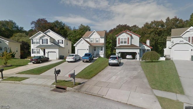 This Google Street View image shows the approximate location of 837 Fordham Place in Glassboro. The property at this address changed hands in November 2019, when new owner bought the property for $224,900.