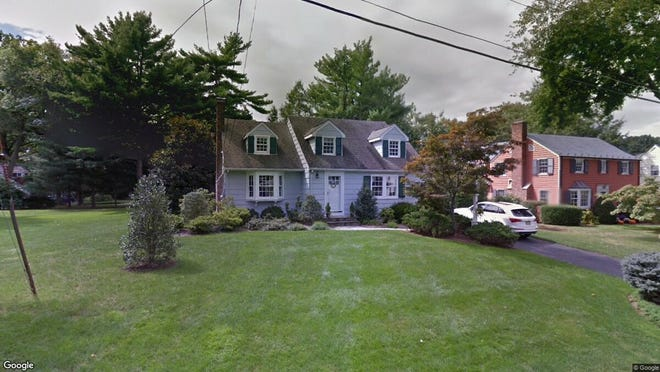This Google Street View image shows the approximate location of 1 Whitman Drive in Chatham Township. The property at this address changed hands in October 2019, when new owners bought the property for $1,200,000.