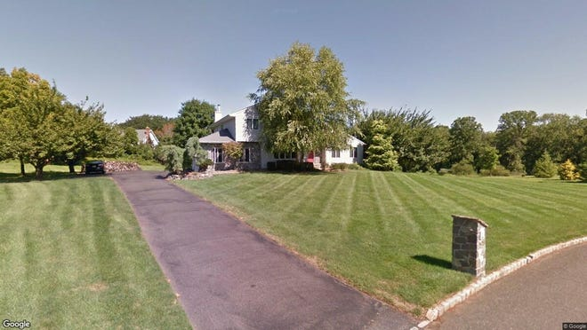 This Google Street View image shows the approximate location of 315 Stirrup Drive in Freehold Township. The property at this address changed hands in December 2019, when new owners bought the property for $645,000.