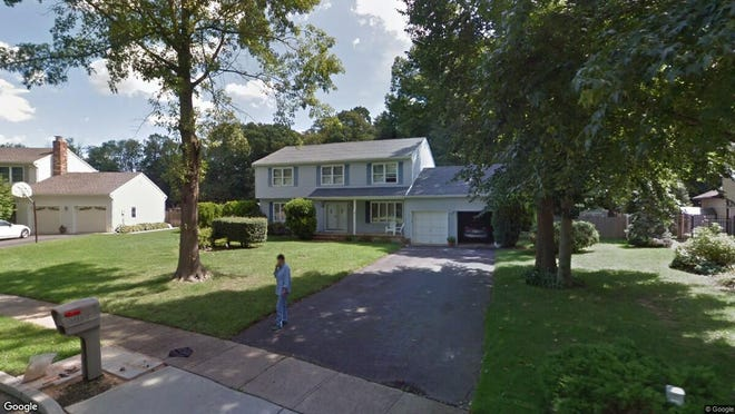 This Google Street View image shows the approximate location of 24 Jefferson Court in Freehold Township. The property at this address changed hands in October 2019, when new owners bought the property for $449,000.