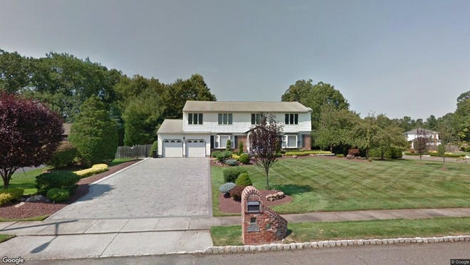 This Google Street View image shows the approximate location of 2 Mohawk Lane in Manalapan. The property at this address changed hands in December 2019, when new owners bought the property for $660,000.