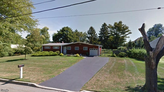 This Google Street View image shows the approximate location of 31 Apple Orchard Drive in Tinton Falls. The property at this address changed hands in November 2019, when new owners bought the property for $444,000.