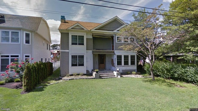This Google Street View image shows the approximate location of 157 Lake Ave. in Manasquan. The property at this address changed hands in November 2019, when new owners bought the property for $1,150,000.