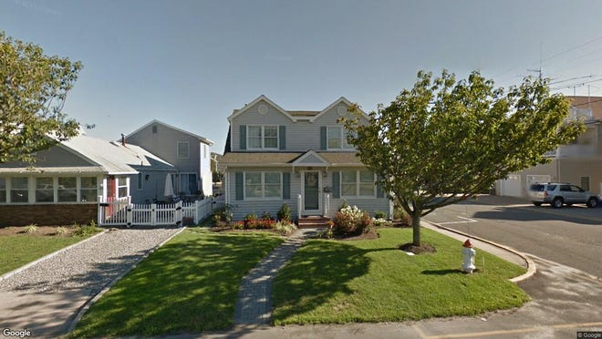 This Google Street View image shows the approximate location of 574 Perch Ave. in Manasquan. The property at this address changed hands in December 2019, when new owners bought the property for $990,000.