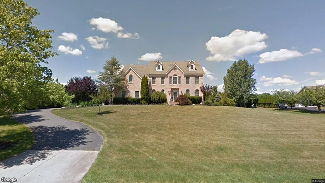This Google Street View image shows the approximate location of 9 Rocky Brook Road in Millstone. The property at this address changed hands in December 2019, when new owners bought the property for $660,000.