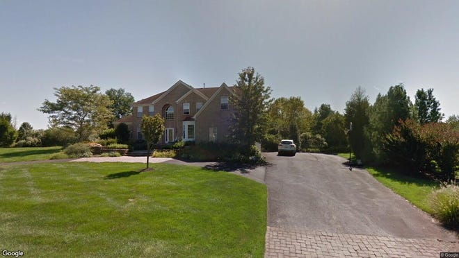 This Google Street View image shows the approximate location of 10 Philip Court in Upper Freehold. The property at this address changed hands in December 2019, when new owners bought the property for $675,000.