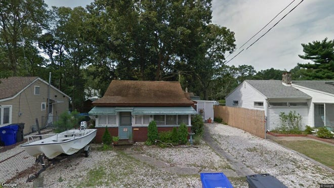 This Google Street View image shows the approximate location of 46 Buckingham Road in Brick. The property at this address changed hands in November 2019, when new owners bought the property for $160,000.