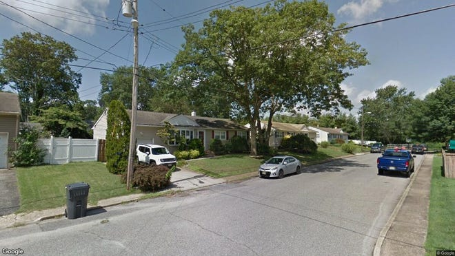 This Google Street View image shows the approximate location of 211 Veronica Drive in Brick. The property at this address changed hands in November 2019, when new owners bought the property for $296,000.