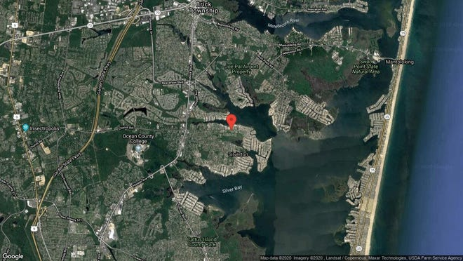 This aerial photo shows the approximate location of 229 Kettle Creek Road in Toms River. The property at this address changed hands in November 2019, when new owner bought the property for $150,000.