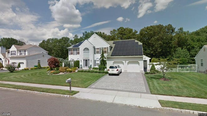 This Google Street View image shows the approximate location of 447 Meadowood Road in Jackson. The property at this address changed hands in November 2019, when new owners bought the property for $535,000.