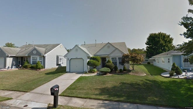 This Google Street View image shows the approximate location of 110 Danbury Drive in Little Egg Harbor. The property at this address changed hands in November 2019, when new owner bought the property for $159,900.