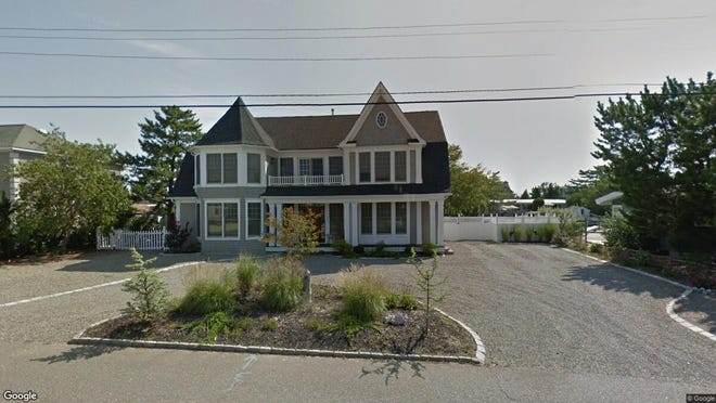 This Google Street View image shows the approximate location of 156 Marina Blvd. in Long Beach Township. The property at this address changed hands in November 2019, when new owner bought the property for $1,580,000.