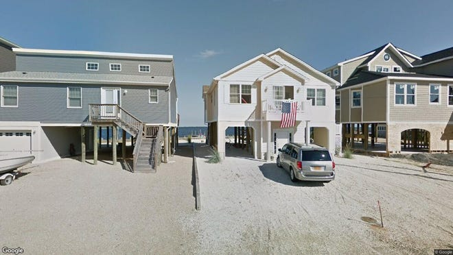This Google Street View image shows the approximate location of 53 Parker Road in Tuckerton. The property at this address changed hands in November 2019, when new owners bought the property for $449,000.