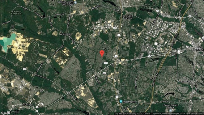 This aerial photo shows the approximate location of 2674 Rockport Lane in Toms River. The property at this address changed hands in November 2019, when new owner bought the property for $309,000.