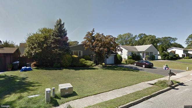 This Google Street View image shows the approximate location of 111 Westwood Drive in Toms River. The property at this address changed hands in November 2019, when new owners bought the property for $336,000.