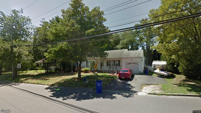 This Google Street View image shows the approximate location of 1801 Merrimac Drive in Toms River. The property at this address changed hands in November 2019, when new owners bought the property for $254,500.