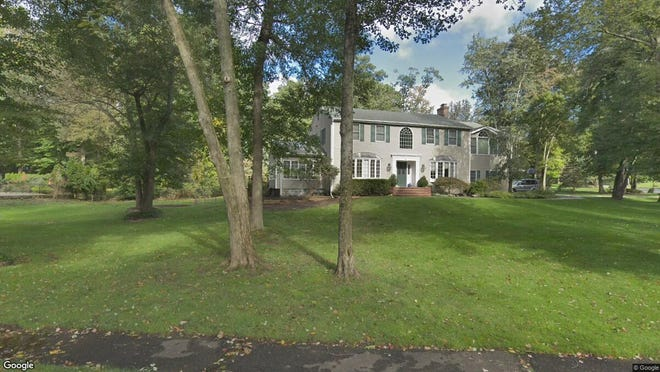 This Google Street View image shows the approximate location of 4 Greenway Court in Woodcliff Lake. The property at this address changed hands in August 2019, when new owners bought the property for $920,000.