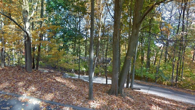This Google Street View image shows the approximate location of 873 Cherokee Lane in Franklin Lakes. The property at this address changed hands in October 2019, when new owners bought the property for $620,000.