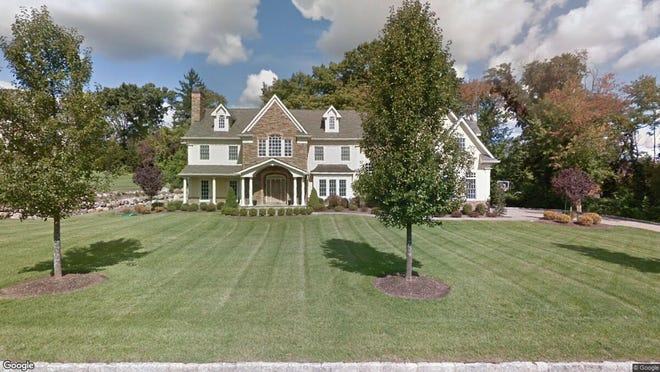 This Google Street View image shows the approximate location of 255 Glen Place in Franklin Lakes. The property at this address changed hands in October 2019, when new owner bought the property for $1,500,000.
