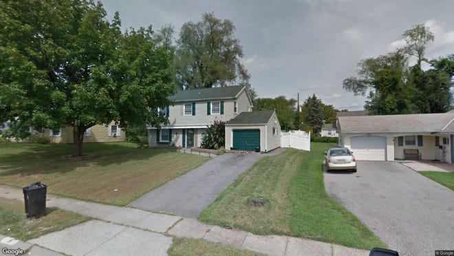 This Google Street View image shows the approximate location of 8 Plumtree Lane in Willingboro. The property at this address changed hands in September 2019, when new owner bought the property for $175,000.
