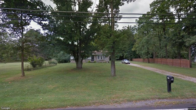 This Google Street View image shows the approximate location of 343 Mt Laurel Road in Mount Laurel. The property at this address changed hands in November 2019, when new owner bought the property for $570,000.