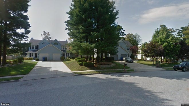 This Google Street View image shows the approximate location of 114 Stoneham Drive in Glassboro. The property at this address changed hands in October 2019, when new owner bought the property for $177,000.