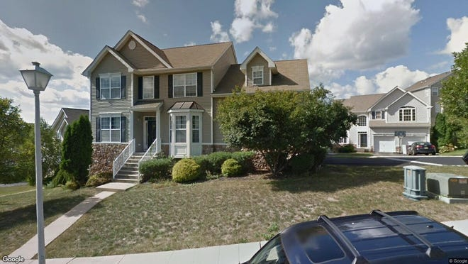 This Google Street View image shows the approximate location of 309 Winding Hill Drive in Mount Olive. The property at this address changed hands in November 2019, when new owners bought the property for $372,000.