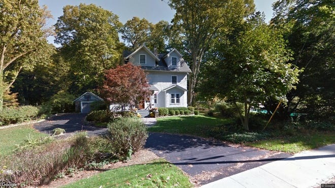 This Google Street View image shows the approximate location of 071 Briarcliff Road in Mountain Lakes. The property at this address changed hands in December 2019, when new owners bought the property for $685,000.