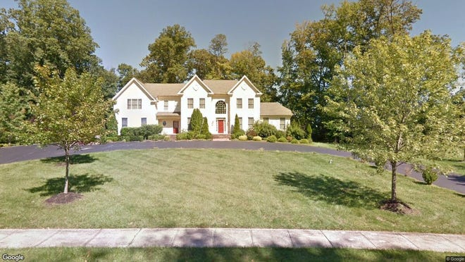 This Google Street View image shows the approximate location of 8 Ichabod Lane in Upper Freehold. The property at this address changed hands in October 2019, when new owners bought the property for $650,000.