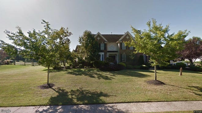 This Google Street View image shows the approximate location of 7 Michael Drive in Upper Freehold. The property at this address changed hands in September 2019, when new owners bought the property for $590,000.