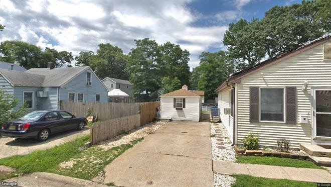 This Google Street View image shows the approximate location of 22 Frazee Place in Keansburg. The property at this address changed hands in December 2019, when new owners bought the property for $228,000.