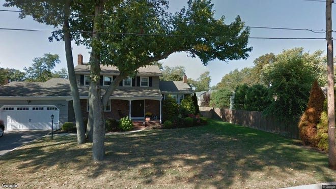 This Google Street View image shows the approximate location of 49 Manitto Place in Oceanport. The property at this address changed hands in August 2019, when new owners bought the property for $590,000.