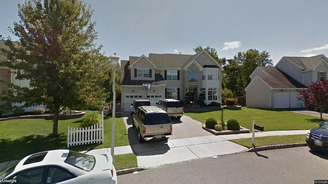This Google Street View image shows the approximate location of 106 Vivas Drive in Barnegat. The property at this address changed hands in November 2019, when new owners bought the property for $515,000.