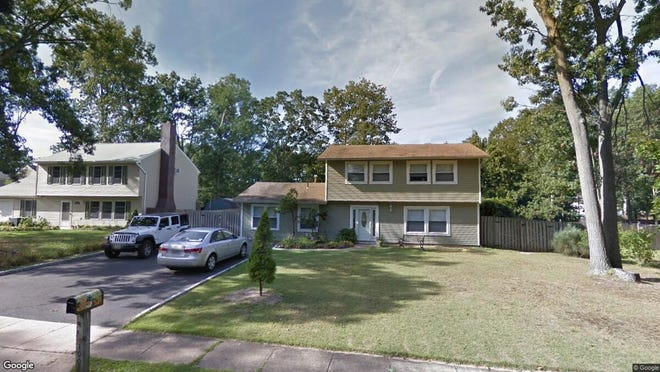 This Google Street View image shows the approximate location of 1002 Feathertree Drive in Toms River. The property at this address changed hands in December 2019, when new owner bought the property for $280,000.