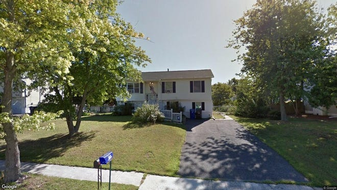 This Google Street View image shows the approximate location of 821 Holiday Court in Toms River. The property at this address changed hands in December 2019, when new owner bought the property for $155,000.